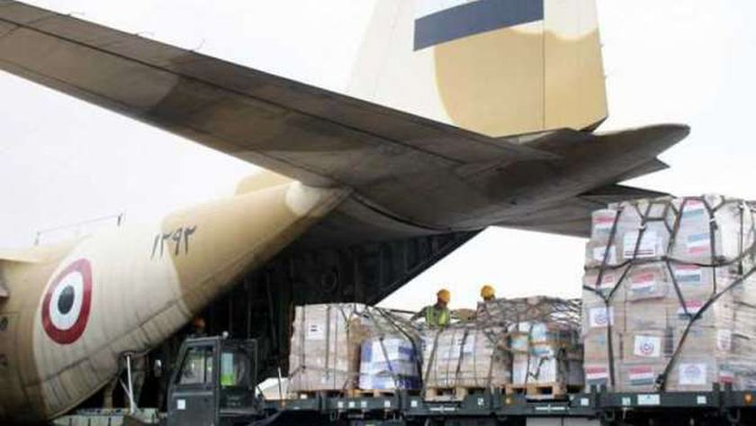 المساعدات الطبية المصرية