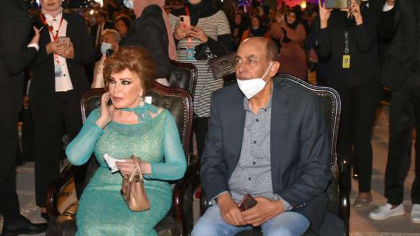 أحمد بدير وصفية العمري في حفل افتتاح مهرجان الإسماعيلية