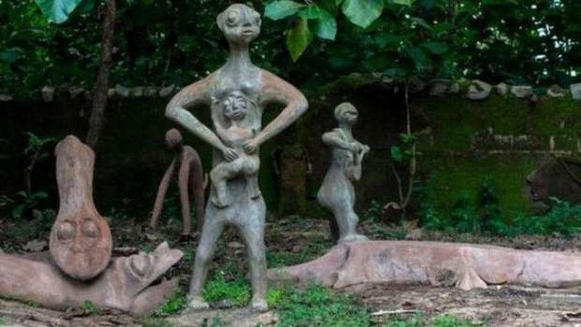 الموقع المقدس في غابة أوسوغبو أوسون في نيجريا