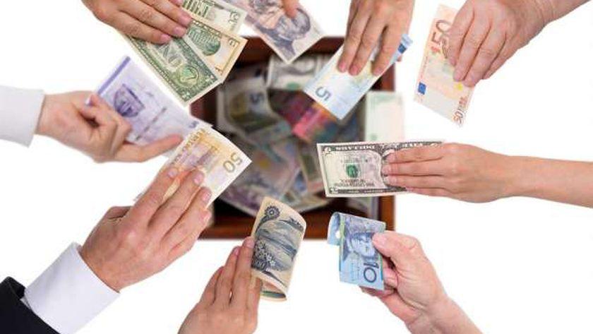 أسعار العملات فى مصر اليوم