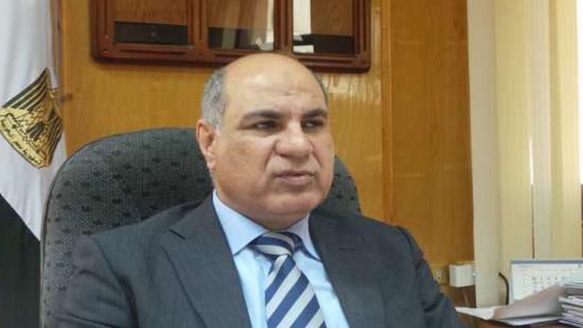 الدكتور ماجد القمري، رئيس جامعة كفر الشيخ
