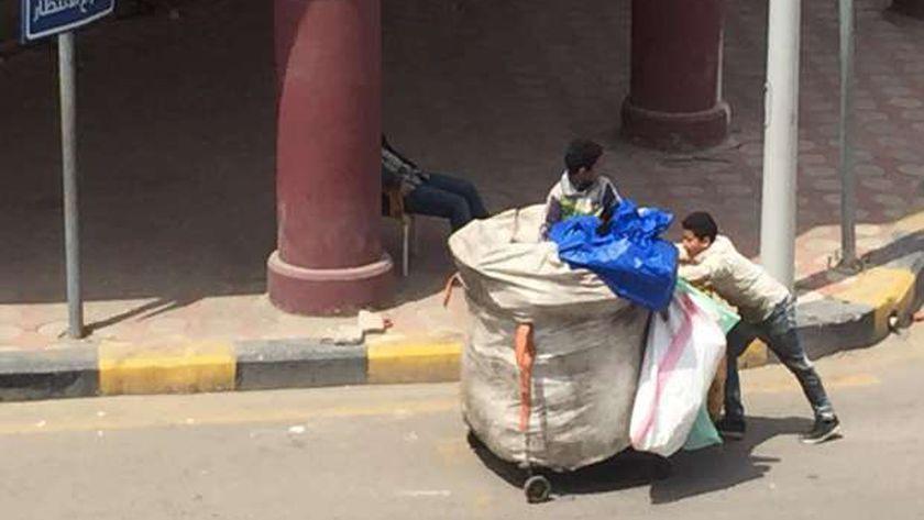 نباشين القمامة ببورسعيد