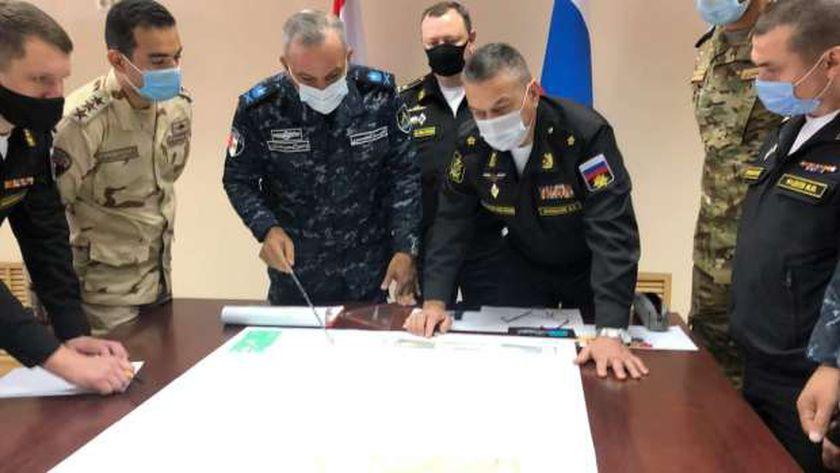 """فيديو.. ختام فعاليات التدريب البحري المصري– الروسي """"جسر الصداقة 3"""""""
