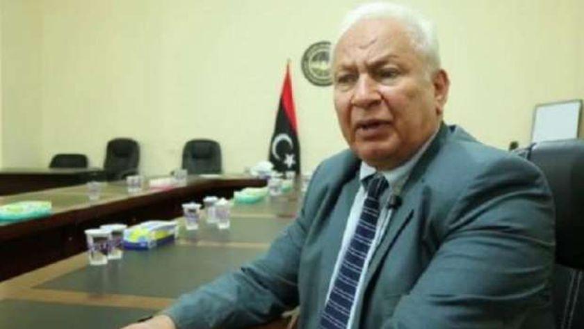 النائب الليبي علي التكبالي