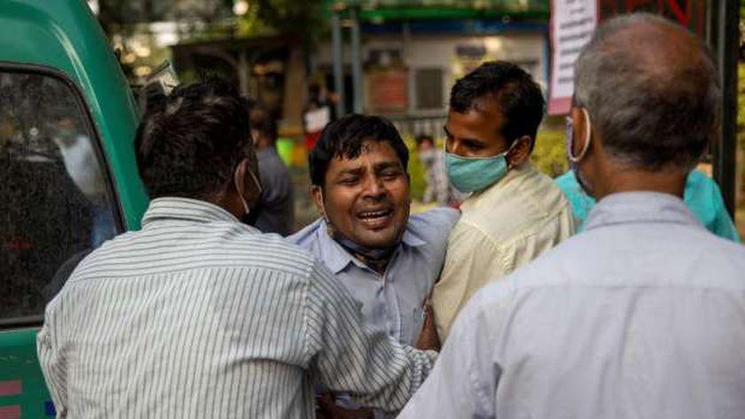 تدهور الوضع الوبائي في الهند