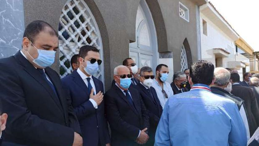 جنازه محافظ بورسعيد الأسبق