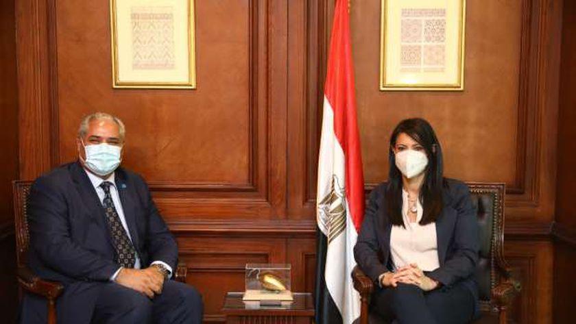 وزيرة التعاون الدولي تلتقي المدير العام المساعد والممثل الإقليمي لمنظمة «الفاو»