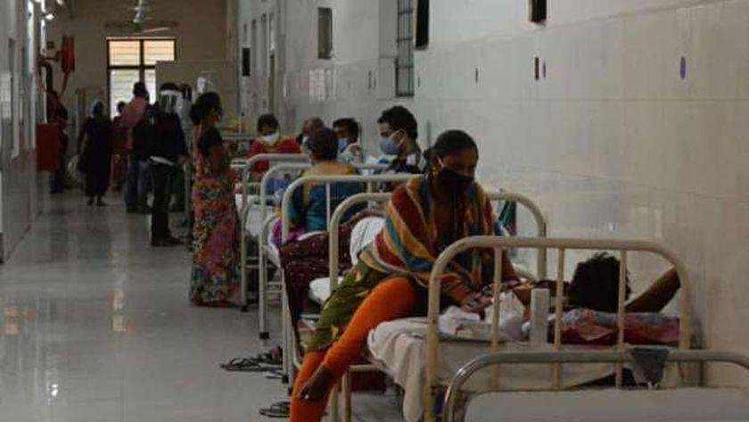 مرضى الفطر الاسود في الهند