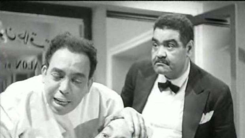 رياض القصبجي وإسماعيل ياسين في فيلم«الهوا مالوش دوا»