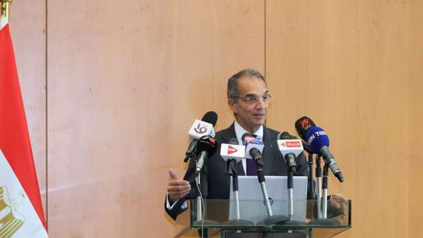 الدكتور عمرو طلعت.. وزير الاتصالات وتكنولوجيا المعلومات