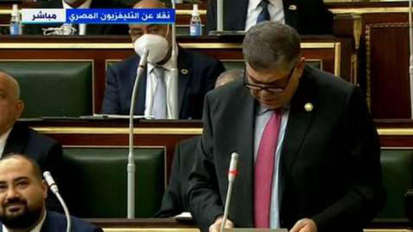 الدكتور أشرف حاتم وزير الصحة الأسبق وعضو مجلس النواب