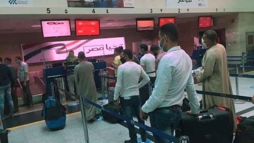 أولى رحلات الخطوط الجوية الأردنية تصل لمطار أسيوط