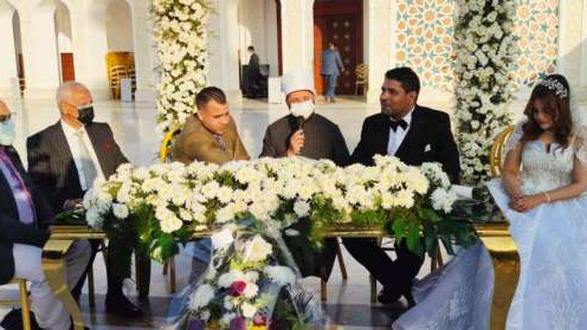حفل زفاف الإعلامي محمد مرعي ونورة معين بحضور حشد من الشخصيات العامة