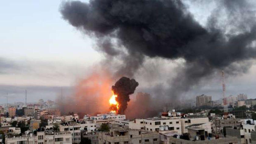 قصف قوات الإحتلال لغزة