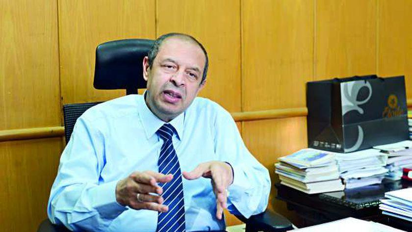 الدكتور علاء عيد رئيس قطاع الطب الوقائي في وزارة الصحة والسكان