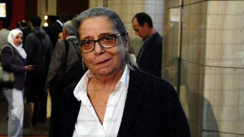 ماجدة هارون رئيس الطائفة اليهودية فى مصر