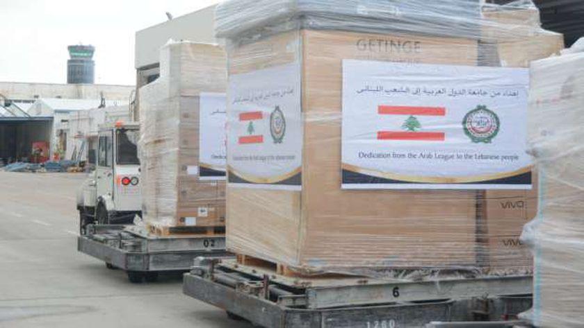 مساعدات طبية للبنان