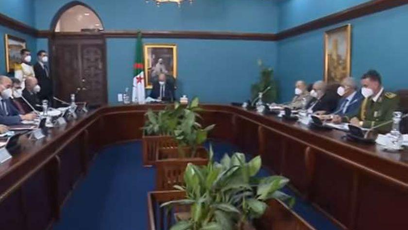 اجتماع المجلس الأعلى للأمن الجزائري