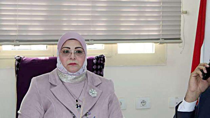 بثينة كشك، وكيل وزارة التربية والتعليم بكفر الشيخ