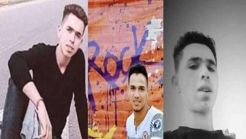 3 شباب أصدقاء غرقوا بكفر الشيخ