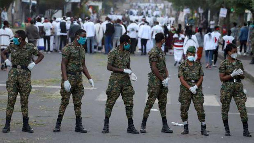 قوات الأمن الإثيوبيةرئيس الوزراء الإ