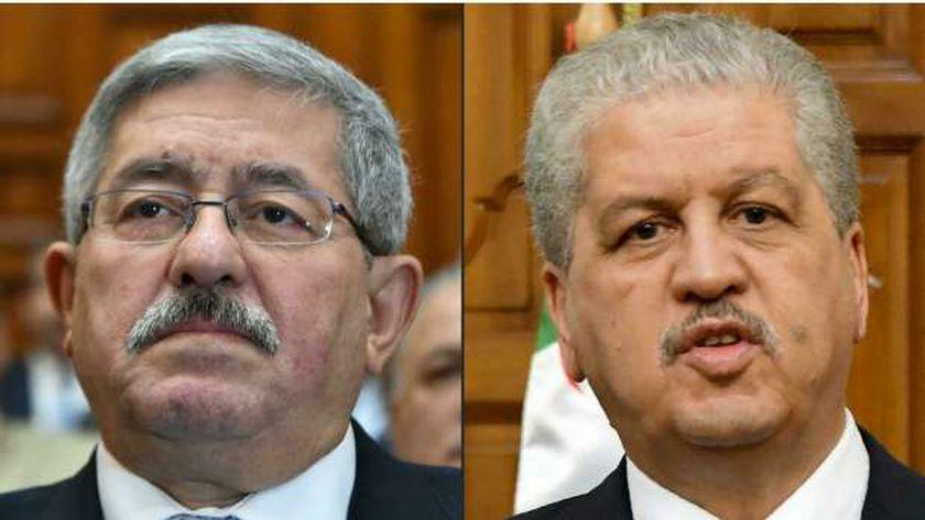 عبد المالك سلال وأحمد أويحيى