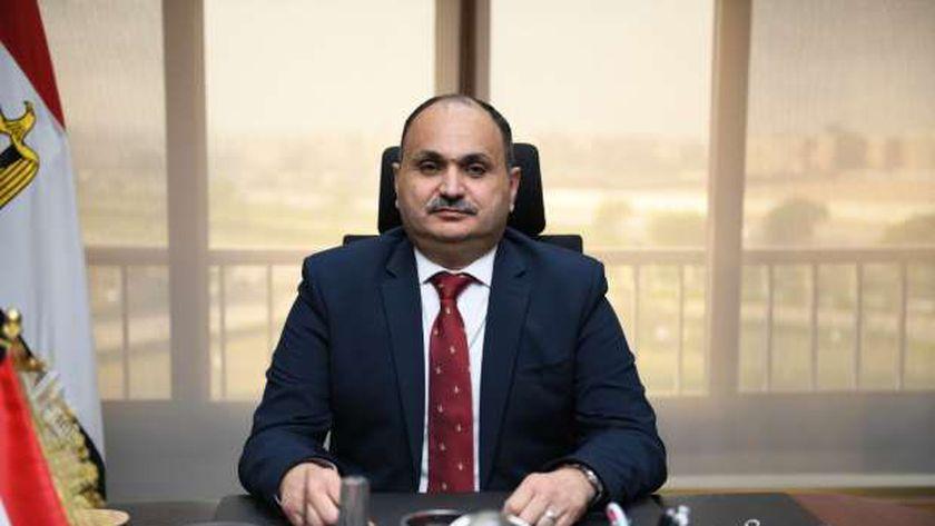 اللواء خالد محروس، رئيس مركز نظم المعلومات والحواسب، التابع لوزارة الإنتاج الحربي