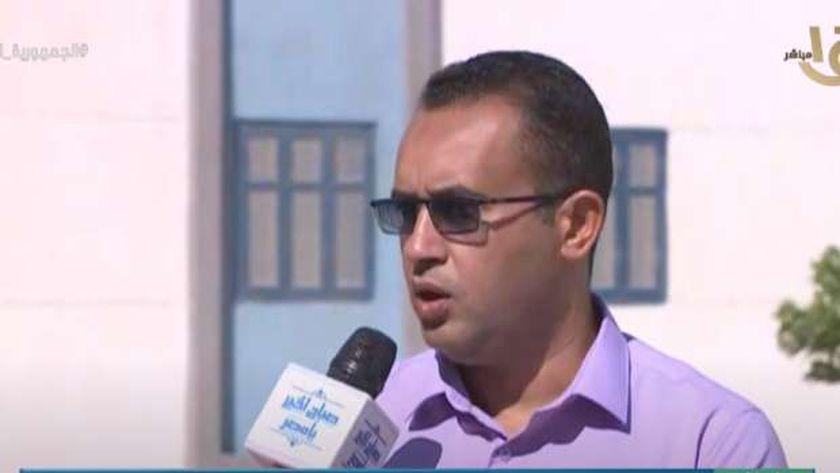 المهندس محمد خلف نائب رئيس جهاز مدينة 15 مايو