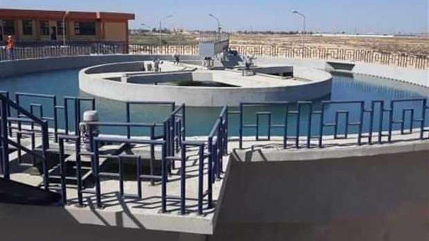 محطة مياه الشرب بالمستقبل