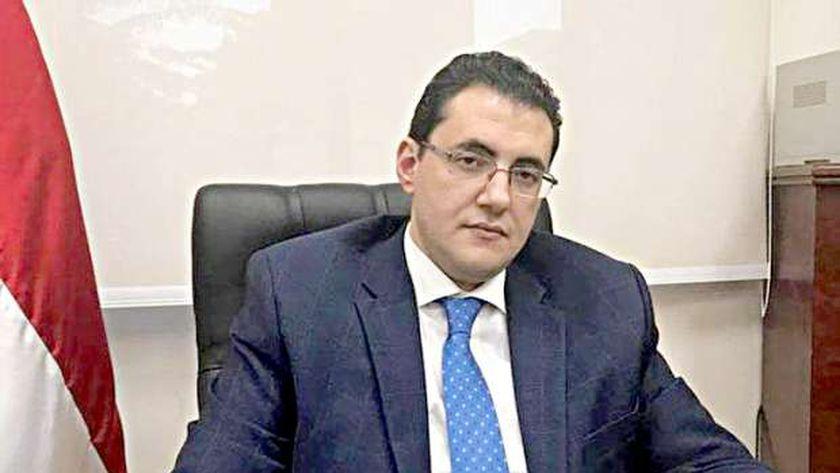 الدكتور خالد مجاهد .. المتحدث باسم وزارة الصحة والسكان