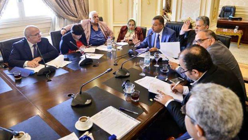 لجنة الصحة فى البرلمان خلال اجتماع سابق