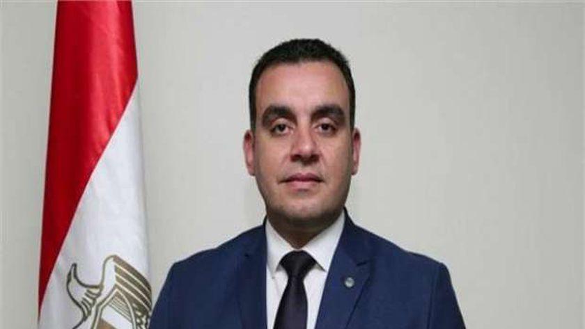 محمد السباعي المتحدث باسم وزارة الري