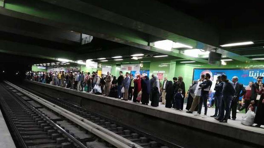 محطة المترو يالخط الثاني - أرشيفية