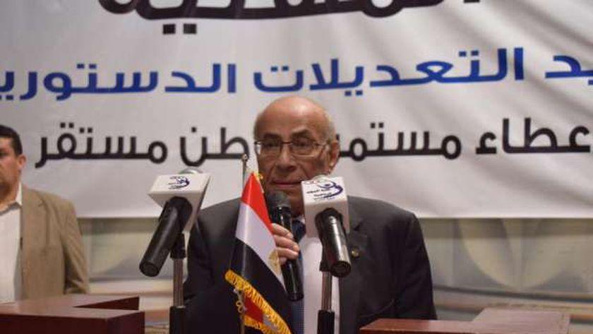 الدكتور حلمي الشنواني نقيب مصممي الفنون التطبيقية