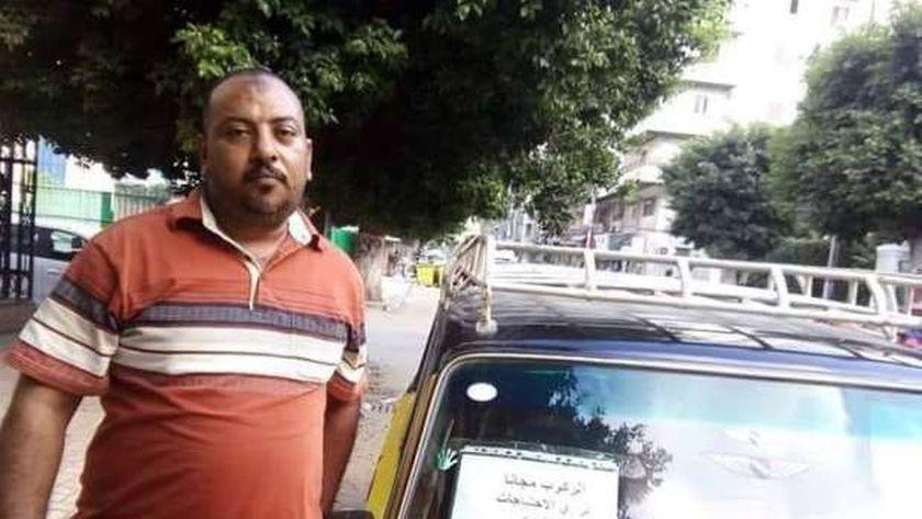 الاسطى على سائق أجرة بالإسكندرية