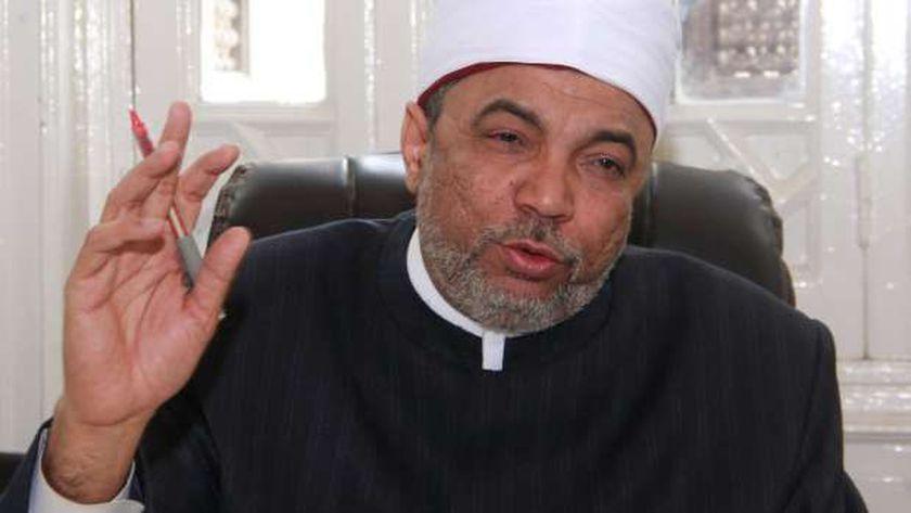 الشيخ جابر طايع رئيس القطاع الديني بوزارة الأوقاف