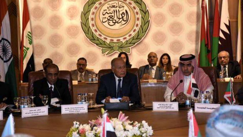 احدي جلسات جامعة الدول العربية