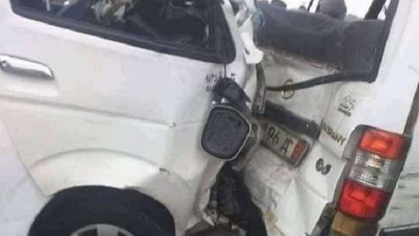 حادث ميكروباص