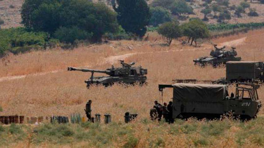 الجيش الإسرائيلي بالقرب من حدود غزة (أرشيفية)