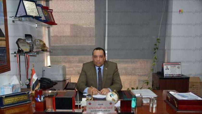 أحمد عبد الهادى المتحدث الرسمي لشركة مترو الأنفاق