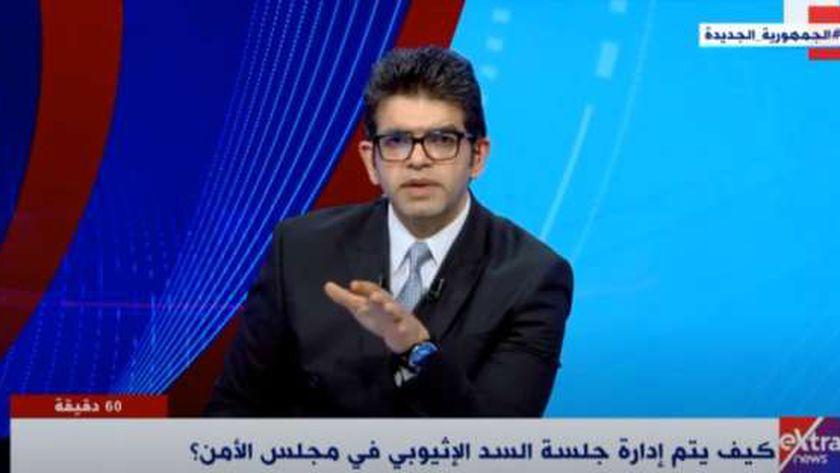 الإعلامي أحمد الطاهري