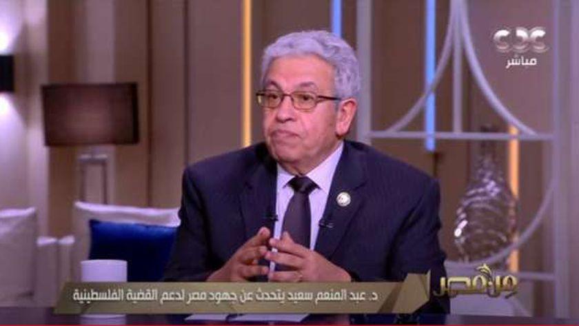 المفكر الدكتور عبد المنعم سعيد