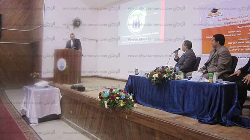 كلية تربية الإسكندرية - أرشيفية