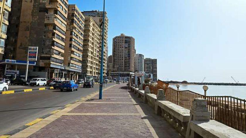الشواطئ مغلقة في الإسكندرية
