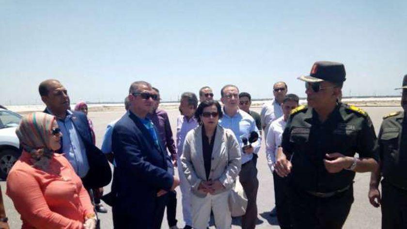 نائب وزير الزراعة واللواء حمدى بدين ومحافظ كفر الشيخ