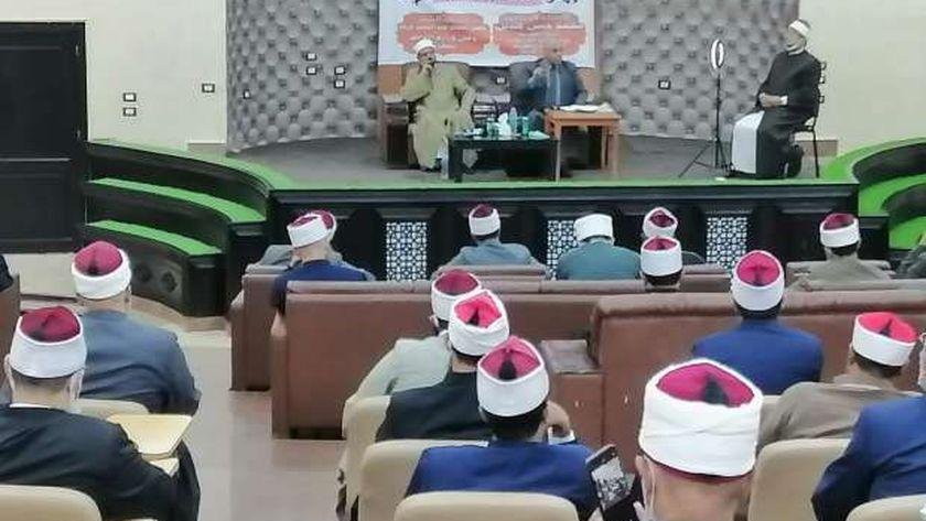 فعاليات ندورة دور العبادة في مطروح مع أئمة المساجد
