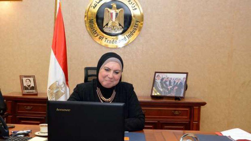 وزيرة التجارة