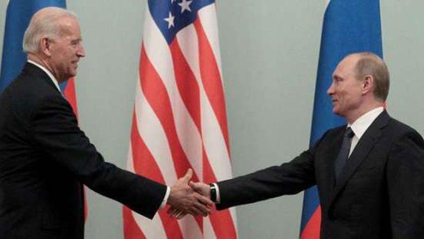 لقاء سابق بين بوتين وبايدن قبل تولي الأخير رئاسة أمريكا