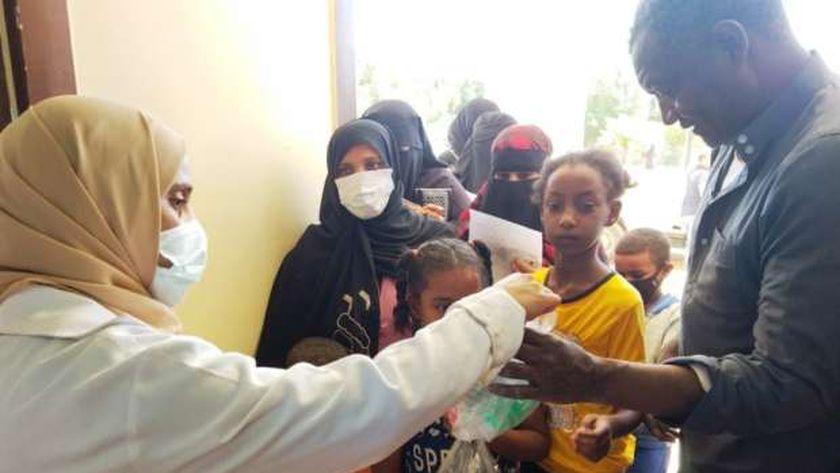 قافلة طبية مجانية فى قرى أسوان ضمن «حياة كريمة»