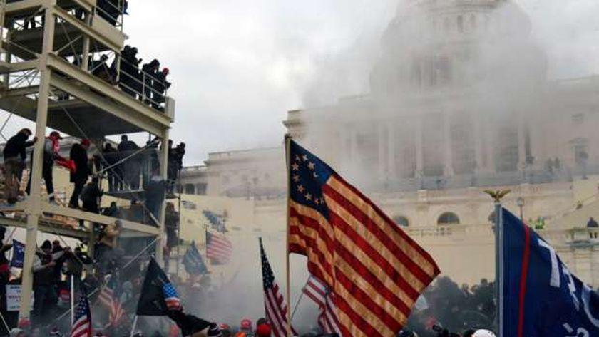 أحداث اقتحام الكونجرس من جانب أنصار الرئيس الأمريكي السابق دونالد ترامب